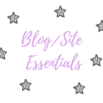 Blog Essentials