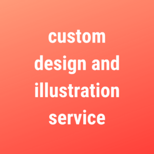 custom design & illustration service