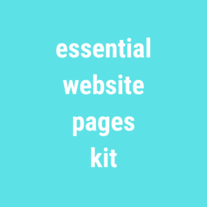 Essential Website Pages Population Kit