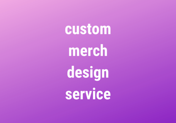 merch design service