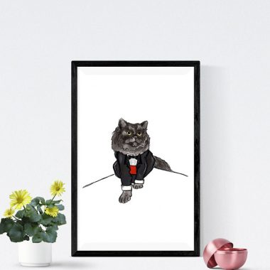 Cats In Suits Geoffrey