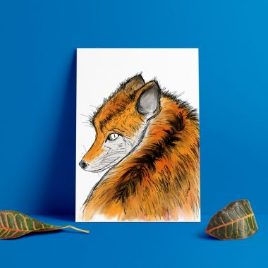 Fox Wall Art Print