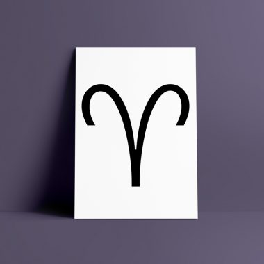 Aries Zodiac Wall Art Print