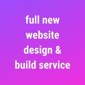 Website Design & Build Service
